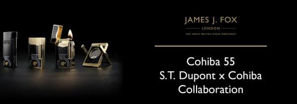 Cohiba 55: S.T Dupont x Cohiba Cigar Accessories