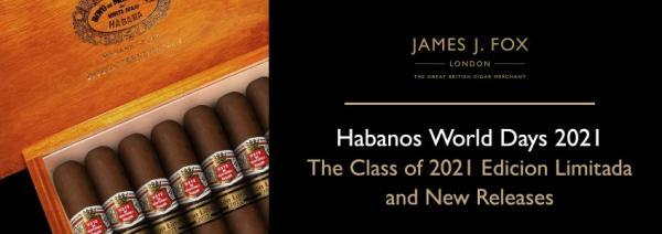 Habanos World Days: The Class of 2021 Edicion Limitada and New Releases