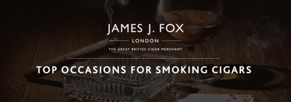 Top Occasions for Smoking Cigars