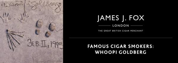 Famous Cigar Smokers: Whoopi Goldberg