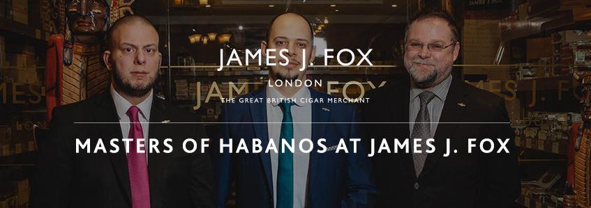 Masters of Habanos at James J. Fox