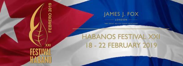 Habanos Festival XXI 18th February – 22nd February 2019