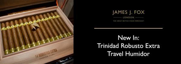 New In: Trinidad Robusto Extra Travel Humidor