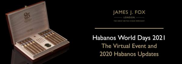 Habanos World Days: The Virtual Event and 2020