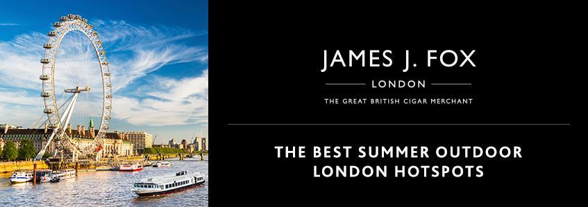 The Best Summer Outdoor London Hotspots