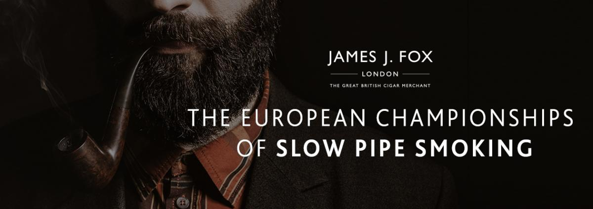 THE EUROPEAN CHAMPIONSHIPS OF SLOW PIPE SMOKING