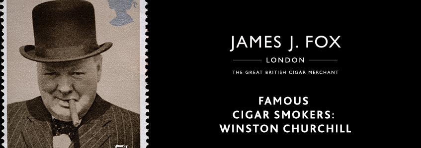 Famous Cigar Smokers: Winston Churchill