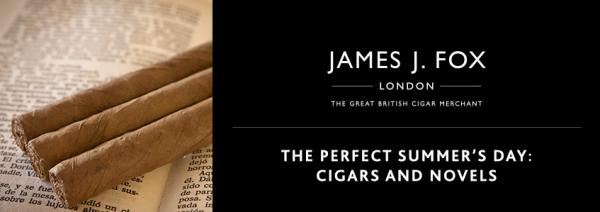 The Perfect Summer's Day: Cigars and Novels