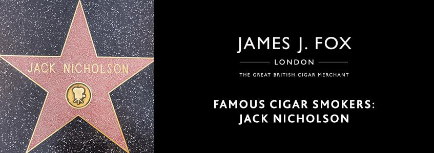 Famous Cigar Smokers: Jack Nicholson