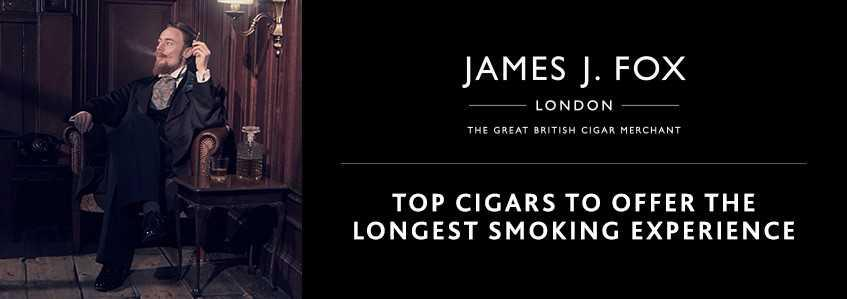Top Cigars that Offer the Longest Smoking Experience
