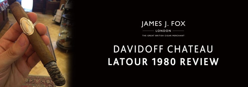 Davidoff Chateau Latour 1980 Review | JJ Fox Blog