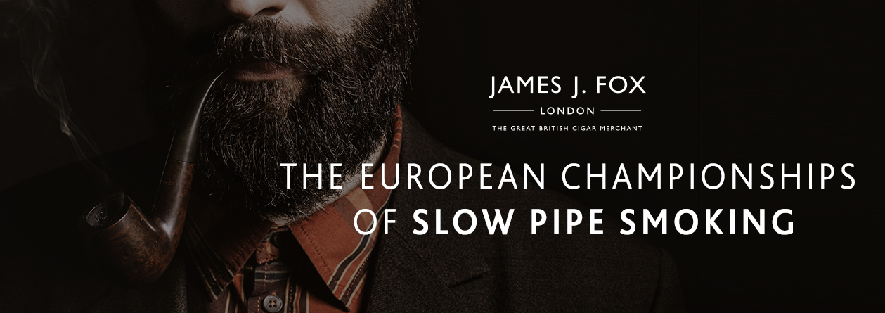 THE EUROPEAN CHAMPIONSHIPS OF SLOW PIPE SMOKING