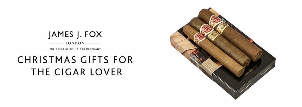 James J. Fox Blog - Christmas Gifts for the Cigar Lover