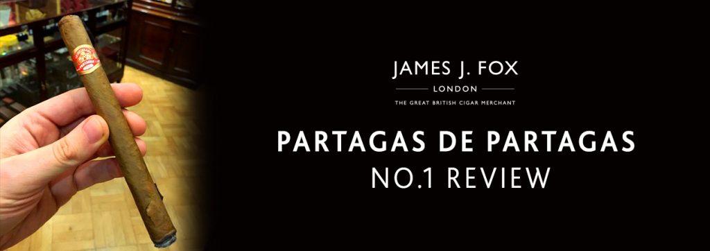 Partagas De Partagas No.1 Review | JJ Fox Blog