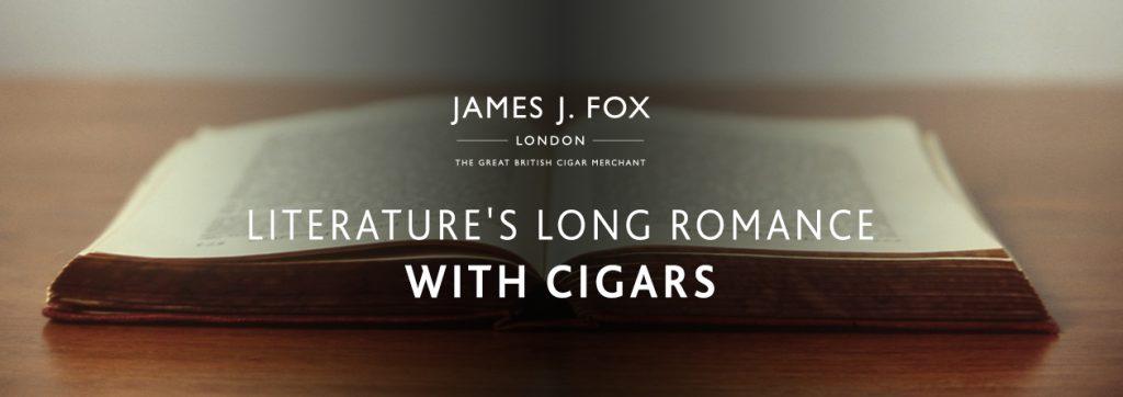 Literature's Long Romance with Cigars | JJ Fox Blog