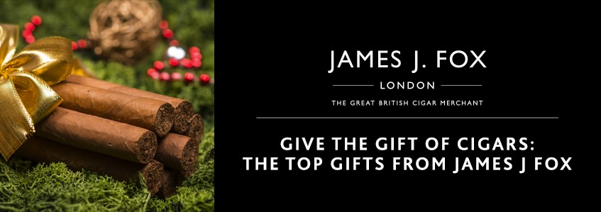 Give the Gift of Cigars: The Top Gifts from James J Fox