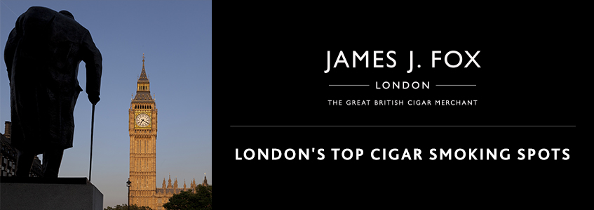 London's Top Cigar Smoking Spots