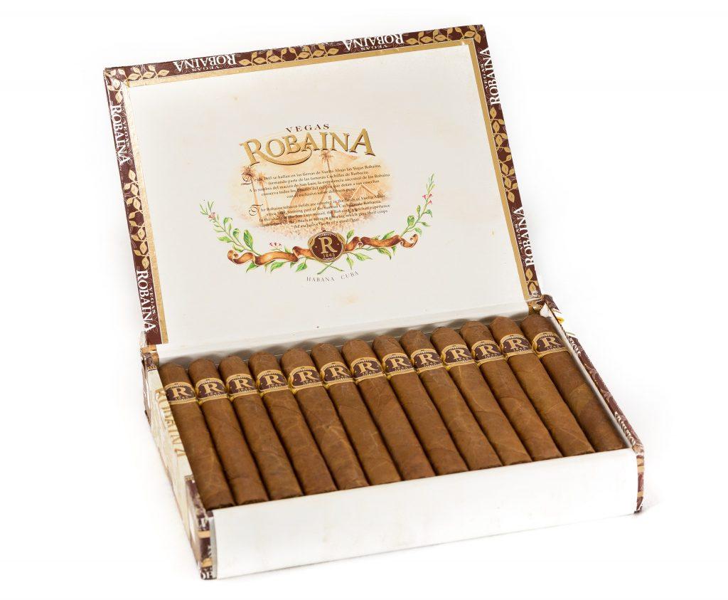 Box of Vegas Robaina cigars