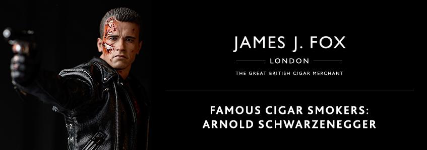 Famous Cigar Smokers: Arnold Schwarzenegger