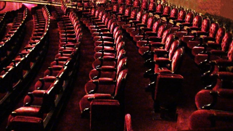 empty classic theatre