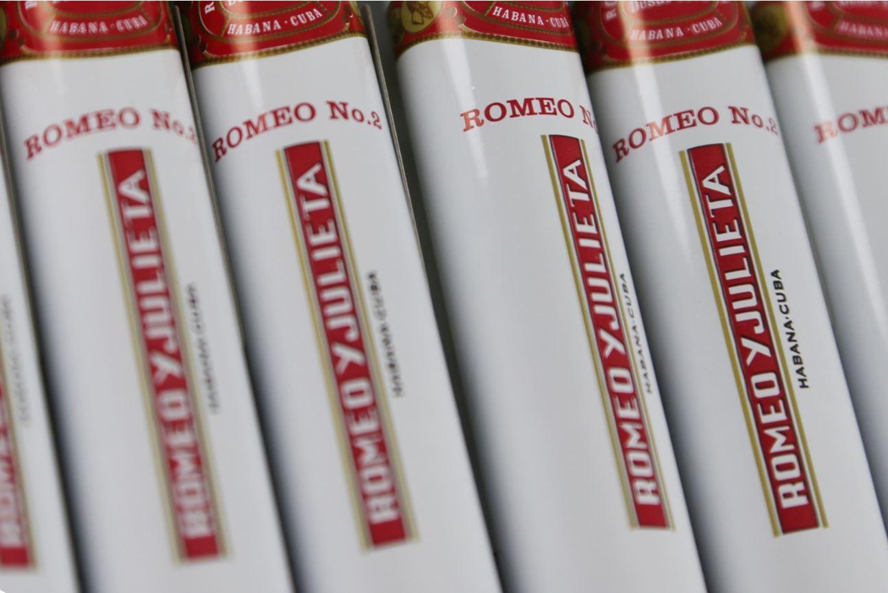 Romeo Y Julieta Tubos No.2