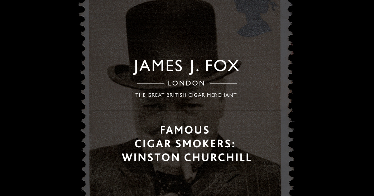 Famous Cigar Smokers: Winston Churchill