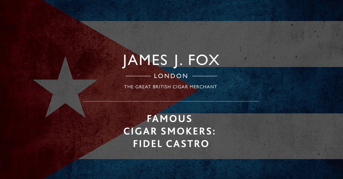 Famous Cigar Smokers: Fidel Castro