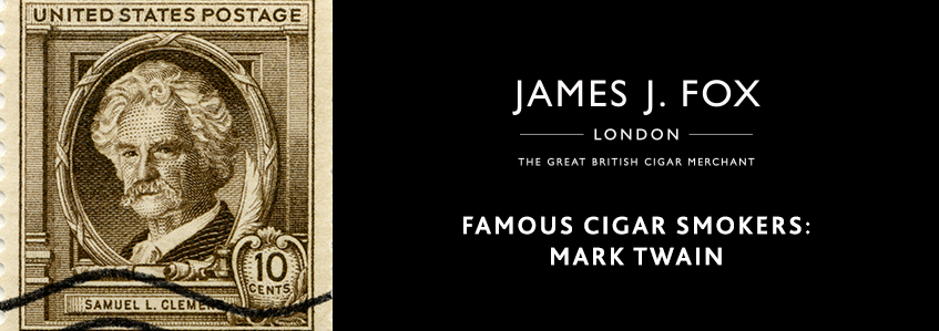 Famous Cigar Smokers: Mark Twain