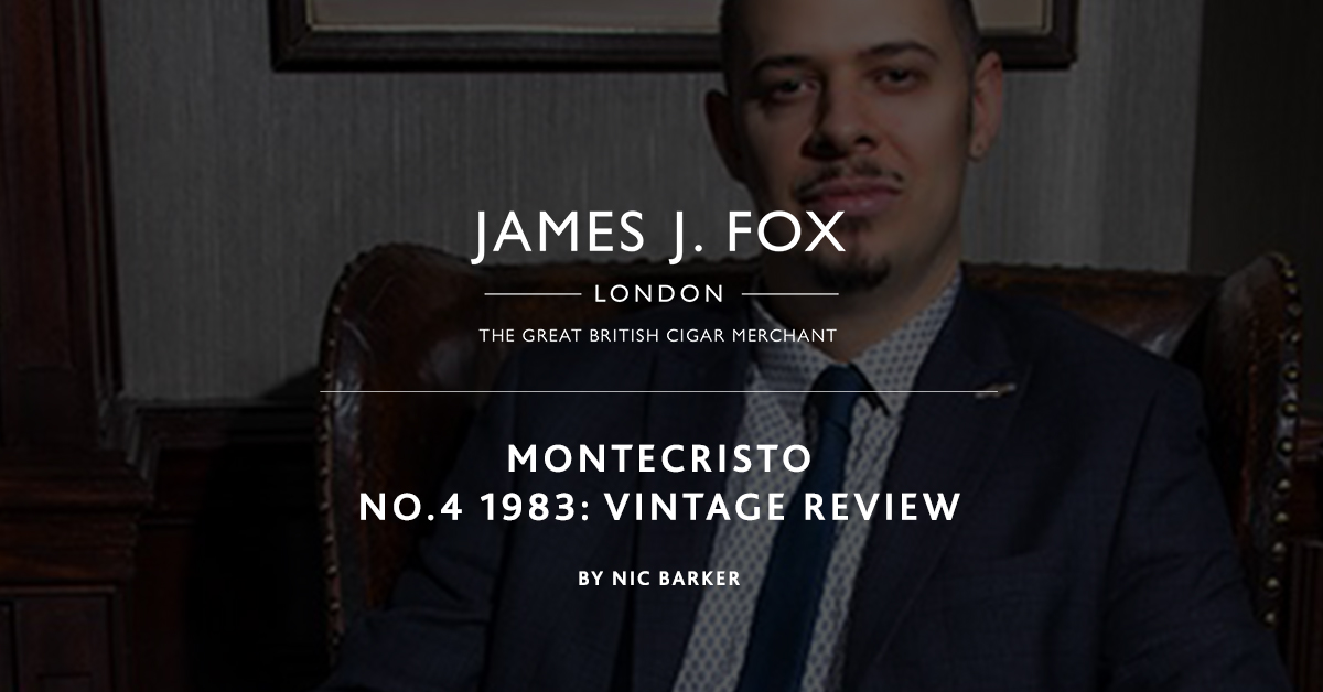 Montecristo No.4 1983: Vintage Review