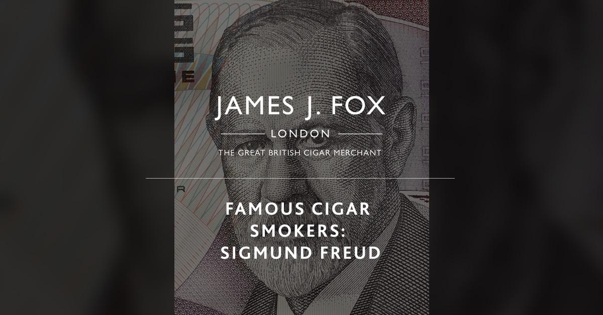 Famous Cigar Smokers: Sigmund Freud