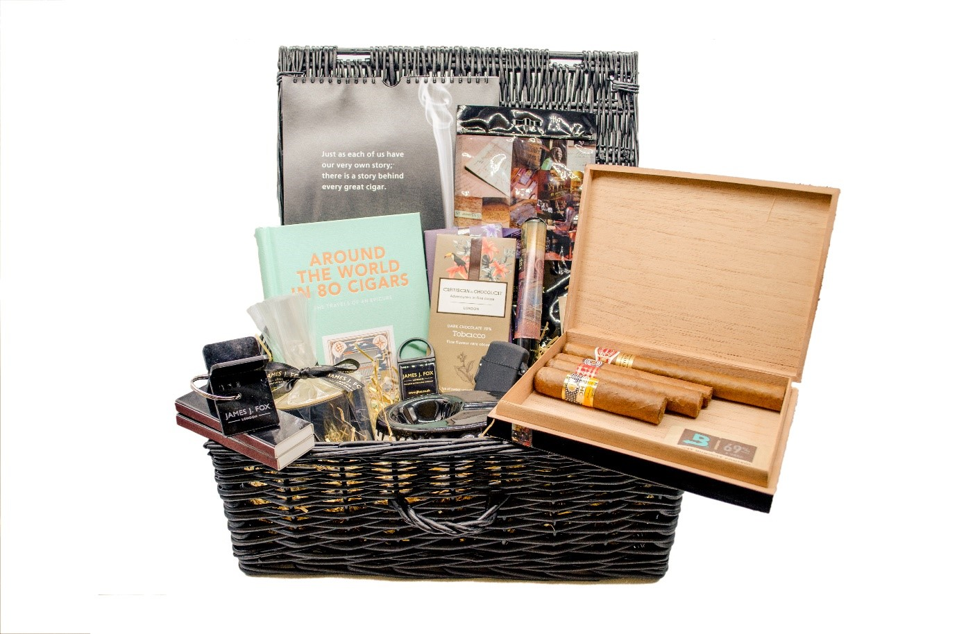 James J Fox Christmas Hamper 2019