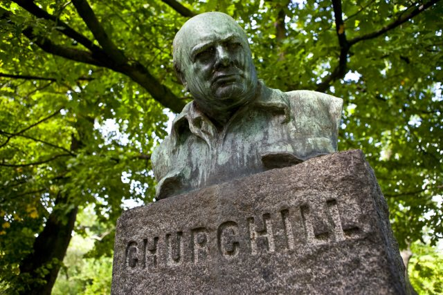 Churchill Bust