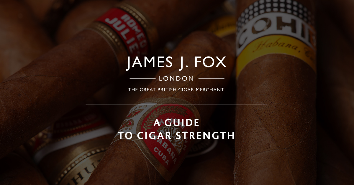 A Guide to Cigar Strength