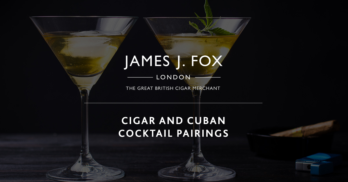 Cigar and Cuban Cocktail Pairings