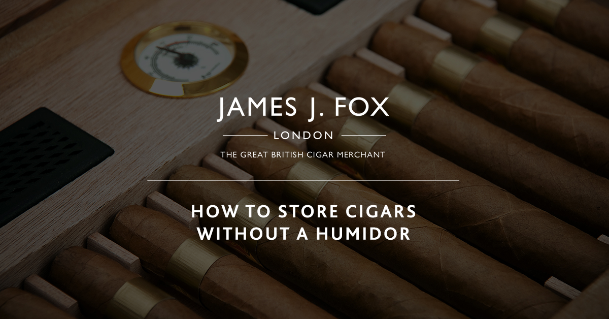 How to Store Cigars Without a Humidor