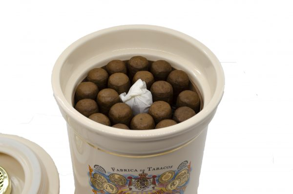 Hupmann Magnum 56 Unidades Ceramic Jar Habanos